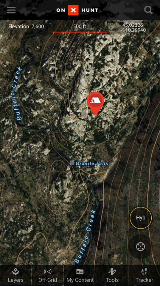 Best Hunting App Offline Land Ownership Hunting GPS Maps OnX - Onx map app