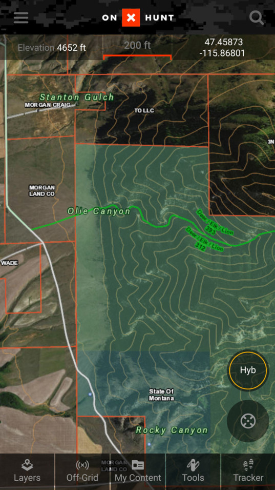 Best Hunting App   Offline Land Ownership Hunting GPS Maps | onX