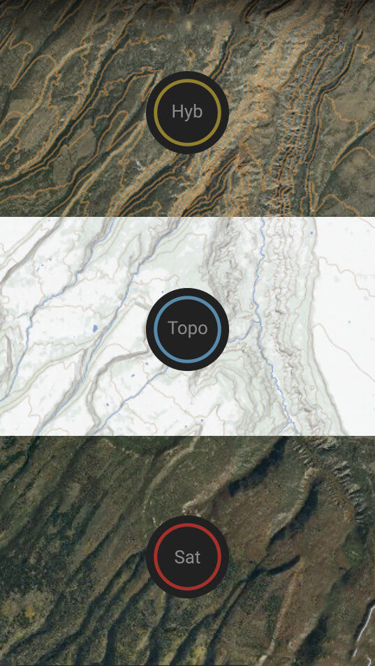 Topo/Sat Hybrid Basemap