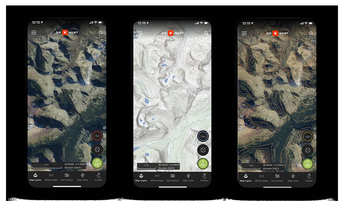 onX Hunt Basemaps.