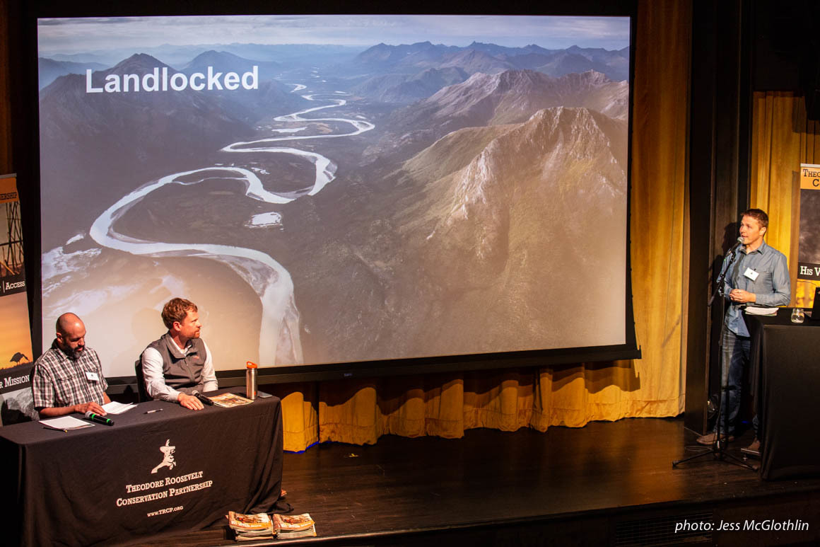 onX Founder Eric Siegfried talks about landlocked public lands at the TRCP Media Summit.