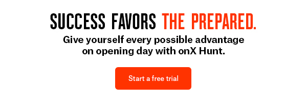 Start your free trial with onX