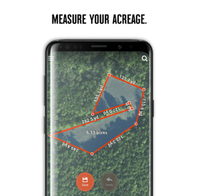 Use the onX Shape Tool to easily plan your food plot, accurately define hunting zones or mark property lines.