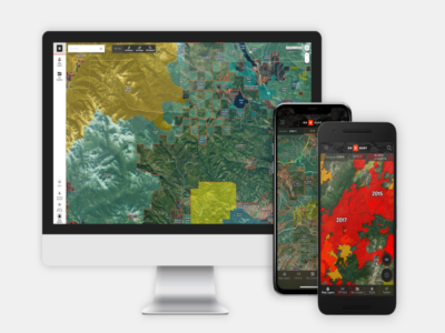 Scout from a desktop then explore with your GPS unit or mobile devices in the field. Your data automatically syncs both ways, so you can find your way to that wallow, rub or lookout.