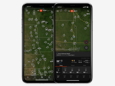 The onX Hunt App provides live weather reports, weather forecasts, wind direction, sunrise / sunset times and barometric pressure—all curated in one convenient location.