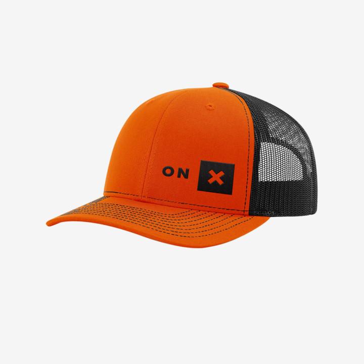 Onx Orange Black Trucker Hat