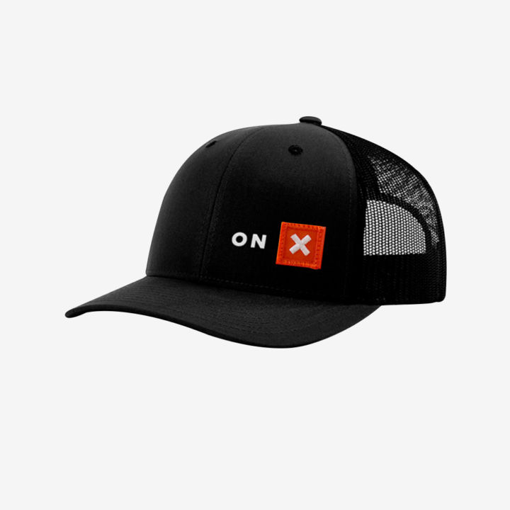 Hat Black Small Patch