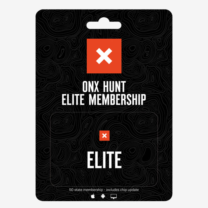 Onx Hunt Elite Packaging