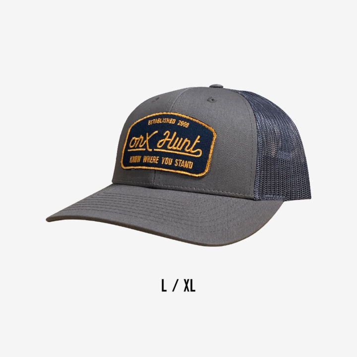 Onx Hunt Hat Bolive Yellow Navy Patch Large