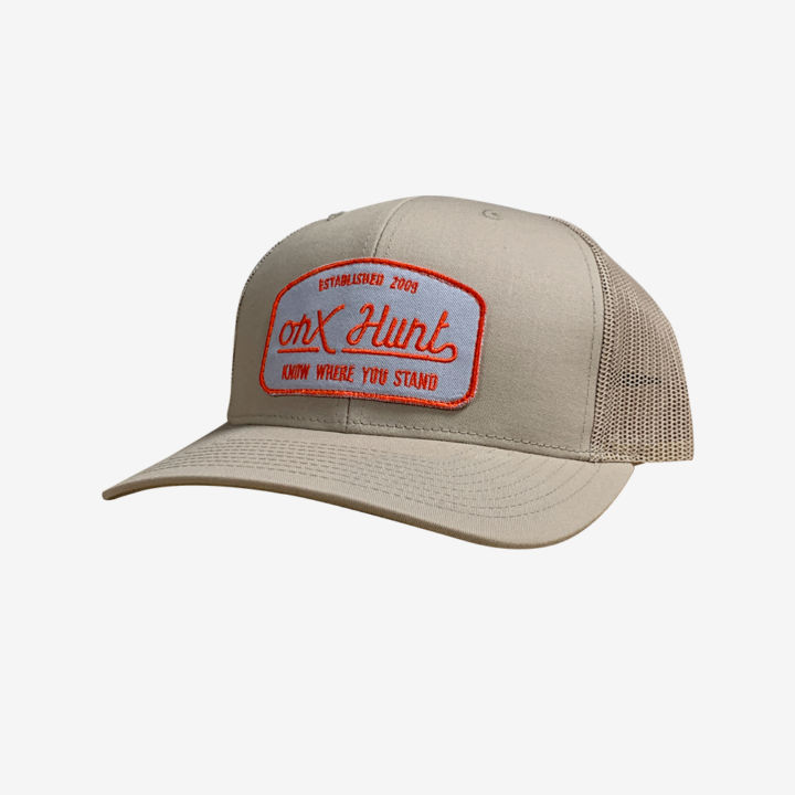 Onx Hunt Hat Tan Orange Gray Patch