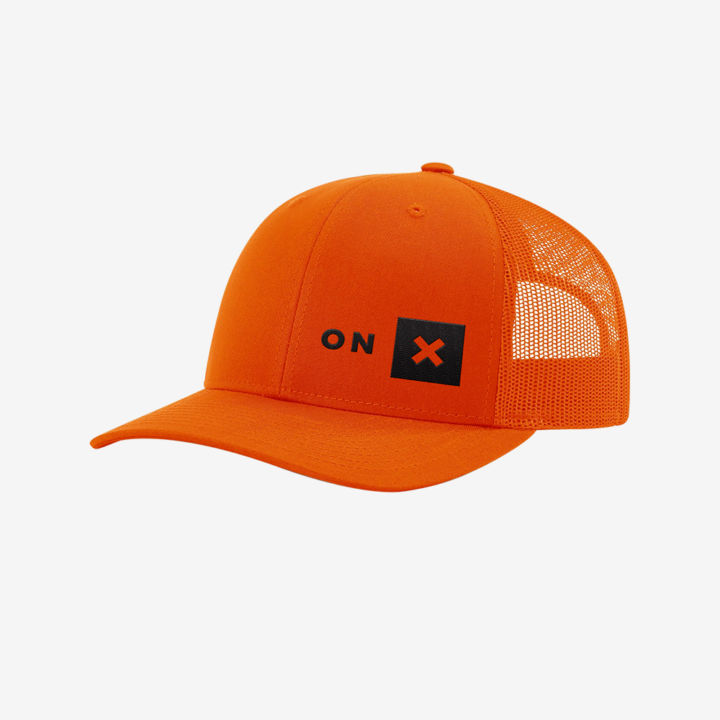 Onx Orange Trucker Hat