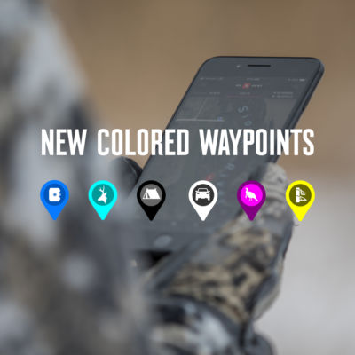 Drop custom Waypoints to mark tree stands, blinds, meeting places and even where you parked the truck. Easily share Waypoint locations with other onX Hunt App users.