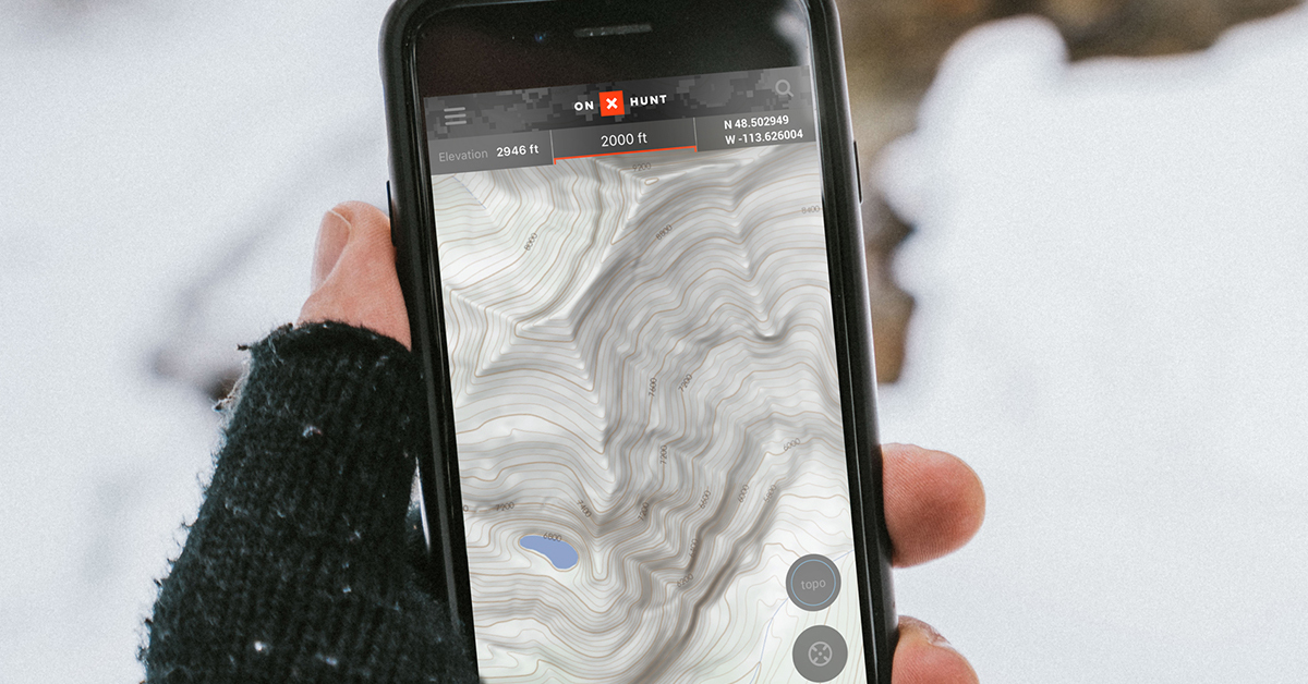 How to Read a Topo Map for Hunting: Contour Lines and More | onX